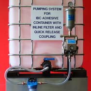 Direct Coupled Pumping System For IBC Containers